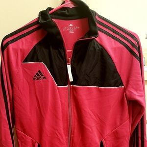 Jackets & Blazers - Pink and Black Adidas's climalite jacket